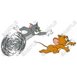 Tom and Jerry T Shirt Iron on Transfer Decal #18