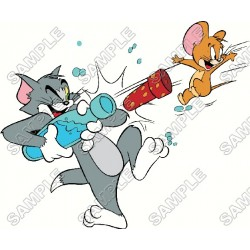 Tom and Jerry T Shirt Iron on Transfer Decal #5