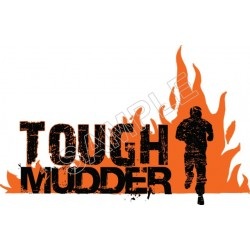 Tough Mudder T Shirt Iron on Transfer Decal #20