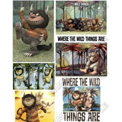 Where the Wild Things Are T Shirt Iron on Transfer Decal #1