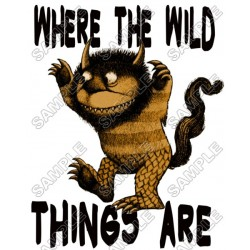 Where the Wild Things Are T Shirt Iron on Transfer Decal #5