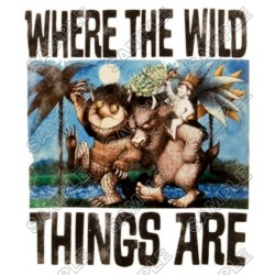 Where the Wild Things Are T Shirt Iron on Transfer Decal #6