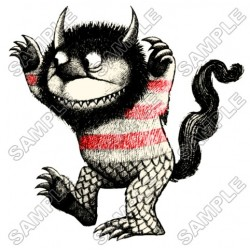 Where the Wild Things Are T Shirt Iron on Transfer Decal #8