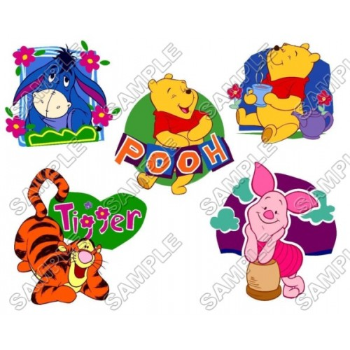 Winnie the Pooh Eeyore Tiger T Shirt Iron on Transfer Decal #10 by www.shopironons.com
