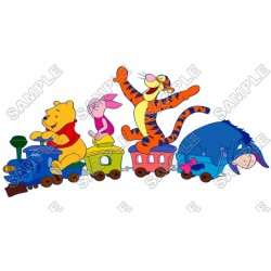 Winnie the Pooh Eeyore Tiger T Shirt Iron on Transfer Decal #13