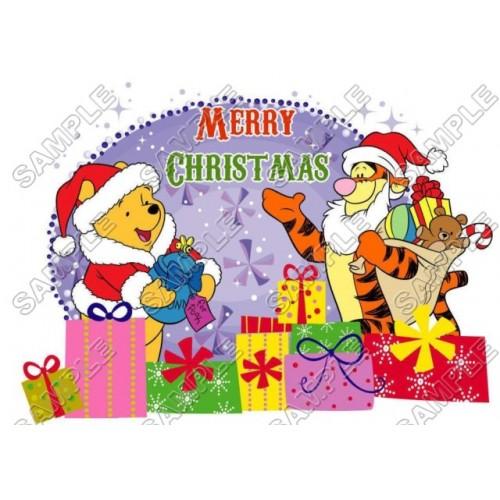 winnie the pooh piglet christmas eeyore tiger t shirt iron on