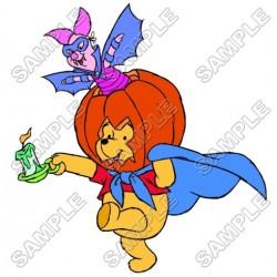 Winnie the Pooh Piglet Halloween Eeyore Tiger T Shirt Iron on Transfer Decal #31