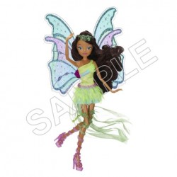 Winx Club Fairy Aisha T Shirt Iron on Transfer Decal #89