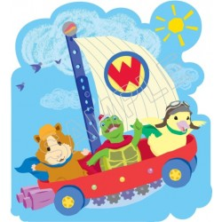 Wonder Pets T Shirt Iron on Transfer Decal #1