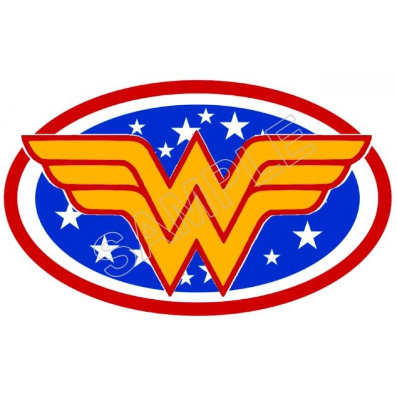 Wonder Woman Logo T Shirt Iron On Transfer Decal 1