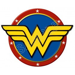 Wonder Woman Logo T Shirt Iron on Transfer Decal #2