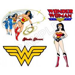 Wonder Woman T Shirt Iron on Transfer Decal #4