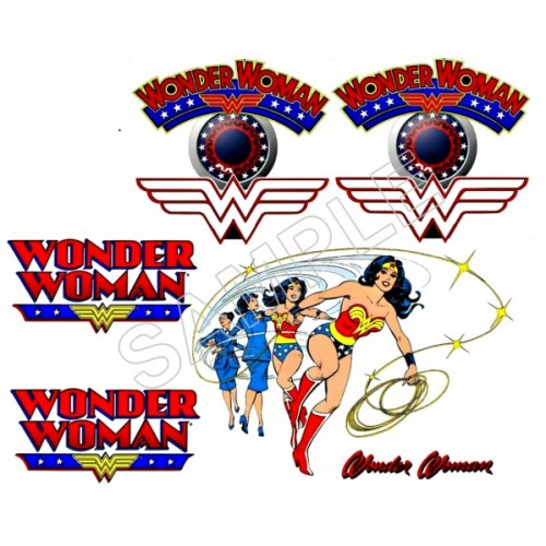 Wonder Woman T Shirt Iron on Transfer Decal #5 by www.shopironons.com