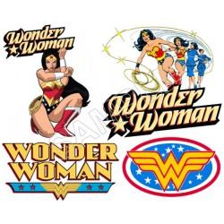 Wonder Woman T Shirt Iron on Transfer Decal #6