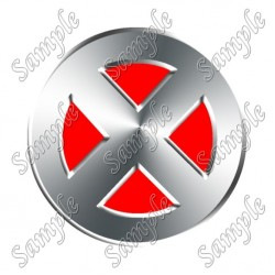 X Man Logo T Shirt Iron on Transfer Decal #8