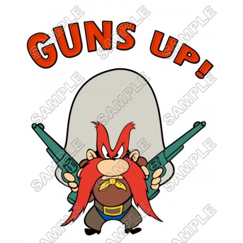 Yosemite Sam T Shirt Iron on Transfer Decal #2 by www.shopironons.com