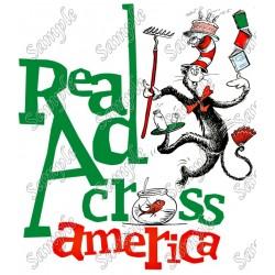 Read Across America T Shirt Iron on Transfer Decal #34