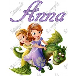 Sofia the First Ivy Birthday Personalized Custom T Shirt Iron on Transfer Decal #1