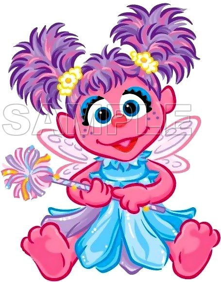 Abby Cadabby T Shirt Iron On Transfer Decal 9