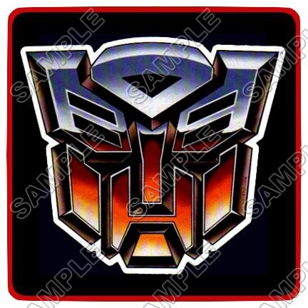 Autobot Logo Transformers T Shirt Iron On Transfer Decal 10