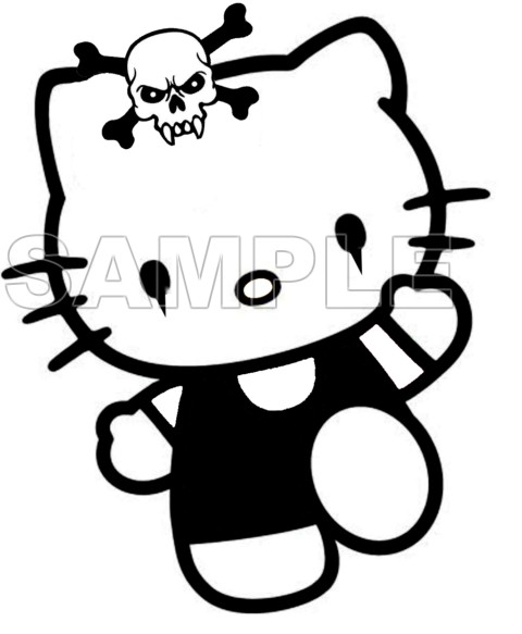 hello kitty t shirt iron on transfer decal  25