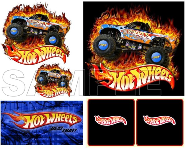 hot wheels t shirt iron on transfer decal 2