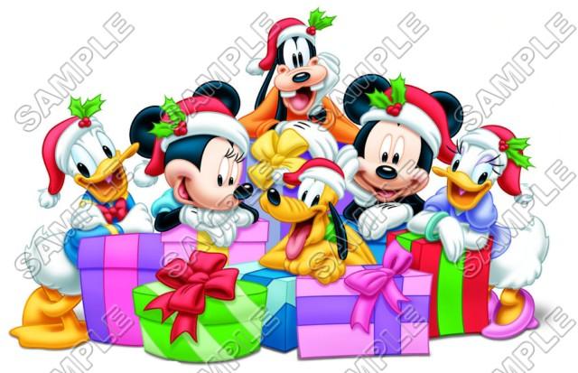 mickey mouse christmas t shirt iron on transfer decal 31 - Christmas Mickey Mouse