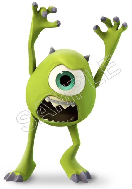 Monsters Inc T Shirt Iron On Transfer Decal 5