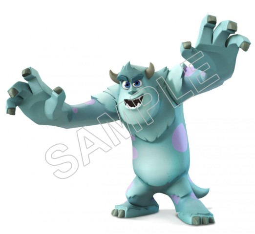 Monsters Inc T Shirt Iron On Transfer Decal 6