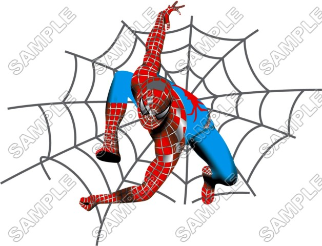 Spider Man T Shirt Iron on Transfer Decal 4