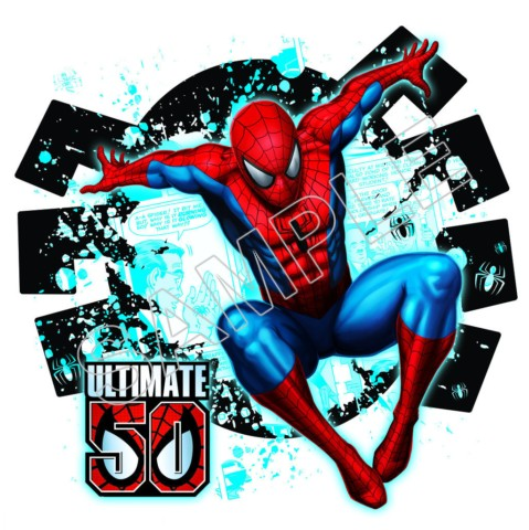 Spider Man T Shirt Iron On Transfer Decal 9