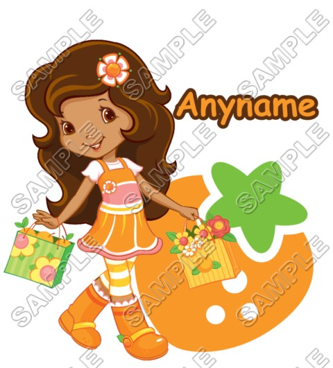 Strawberry Shortcake Orange Blossom Personalized Custom T