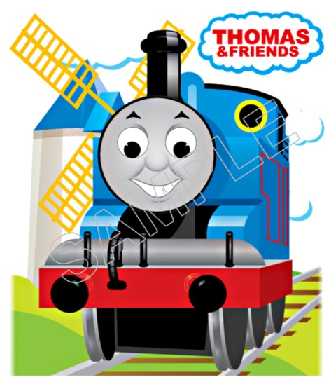 Thomas The Train T Shirt Iron On Transfer Decal 7