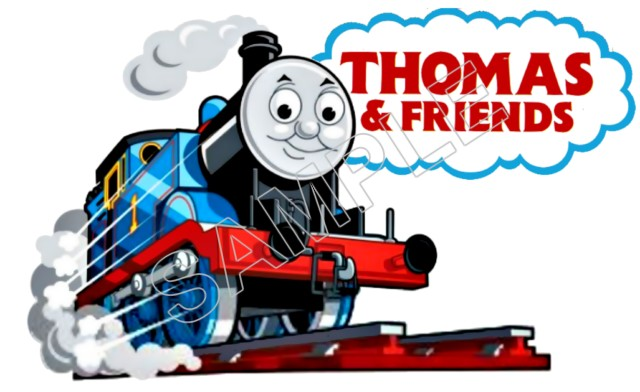Thomas The Train T Shirt Iron On Transfer Decal 8
