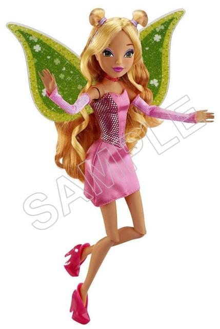 Winx Club Fairy Flora T Shirt Iron On Transfer Decal 91