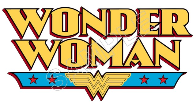 Wonder Woman Logo T Shirt Iron On Transfer Decal 7